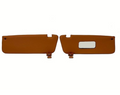 Sunvisor And Clips Set For Mercedes R107 W107 C107 Tobacco Color