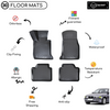 3D Molded Interior Car Floor Mat for BMW 3 Series E36 1992-1998