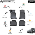 3D Molded Interior Car Floor Mat for BMW 3 Series F30 2012-2019