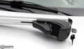Silver Fit For Dacia Logan MCV 5D Top Roof Rack Cross Bars 2007-2013