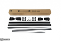 Black Fit For Porsche Cayenne Top Roof Rack Cross Bars Rails Lockable 2010-