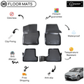 3D Molded Interior Car Floor Mat for Ford Focus 4 2015-2018