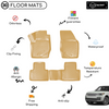 3D Molded Interior Beige Car Floor Mat for Land Rover Vogue 2013 - Up