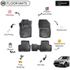 3D Molded Interior Car Floor Mat for Mitsubishi Asx 2010-Up