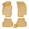 3D Molded Interior Car Floor Mat for Seat Leon 2013-Up