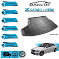 3D Cargo Liner Boot Liner Rear Trunk Mat For C Class W204 2007-2013 (With Ramp)