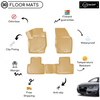 3D Molded Interior Beige Car Floor Mat for Audi Q5 2015 - Up