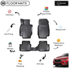 3D Molded Interior Car Floor Mat for Mazda CX3