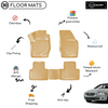 3D Molded Interior Beige Car Floor Mat for Volvo S80
