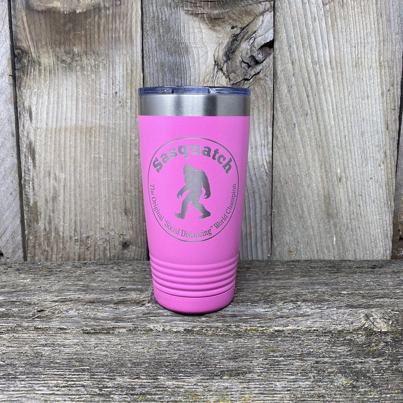 Bigfoot-Sasquatch Social Distance Champ!! Tumbler Hells Canyon Designs
