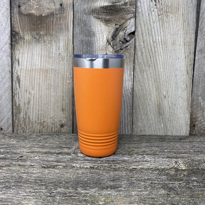 Bigfoot-Sasquatch Social Distance Champ!! Tumbler Hells Canyon Designs Orange