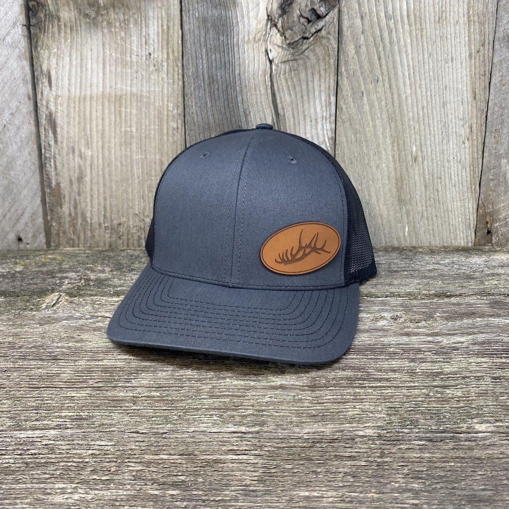 Elk Rack Hat Leather Patch Hats Hells Canyon Designs