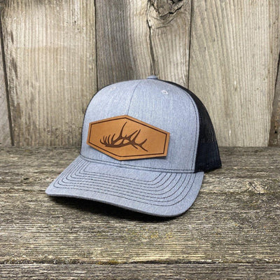 The Big Elk Rack Hat Leather Patch Hats Hells Canyon Designs