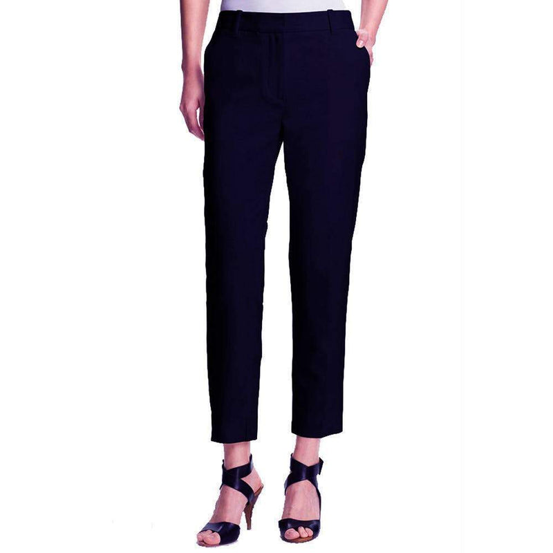 3.1 Phillip Lim Cropped Wool Black Pencil Trouser