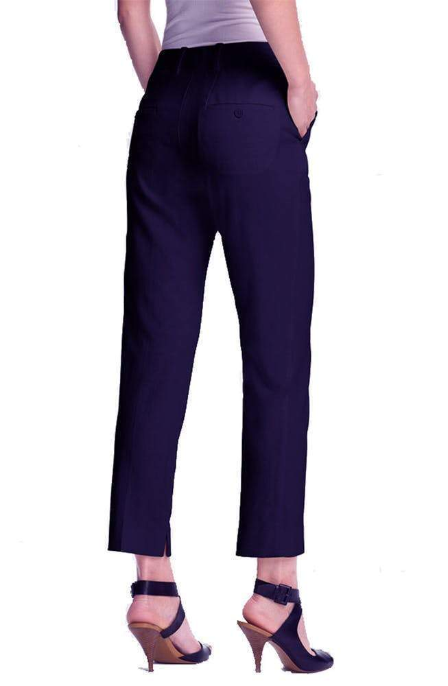 3.1 Phillip Lim Cropped Wool Navy Pencil Trouser Pants 3.1 Phillip Lim