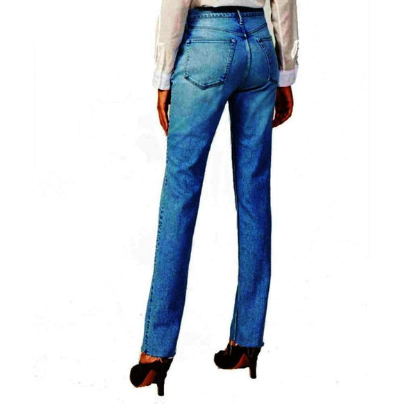 3 x 1 W4 Super High Rise Straight DIY Straight Willow Jeans Jeans 26 3 X 1 Jeans 3 x 1 Authentic Crop 3 x 1 DIY Straight Jeans 3 x 1 Jeans Beacon Denim Designer Jeans Frayed Hem jean $285.00 GordonStuart.com