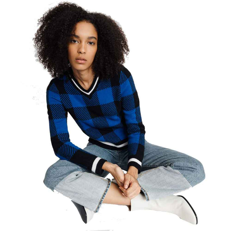 Rag & Bone/JEAN Brenna Striped Pullover Sweater