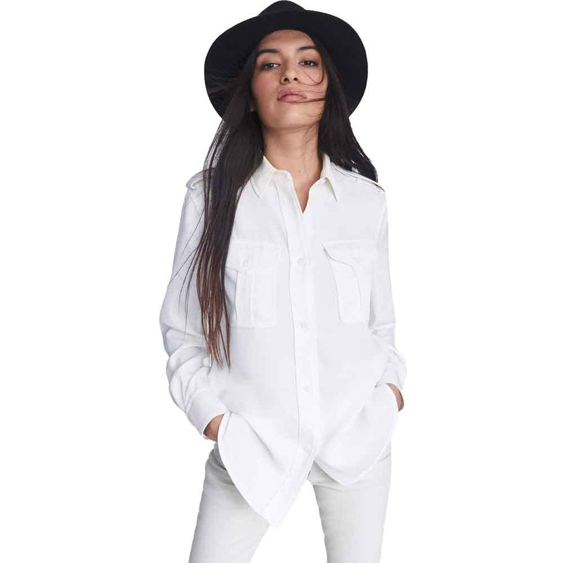 Wolford Viscose White Long Sleeve Turtleneck Pullover Top