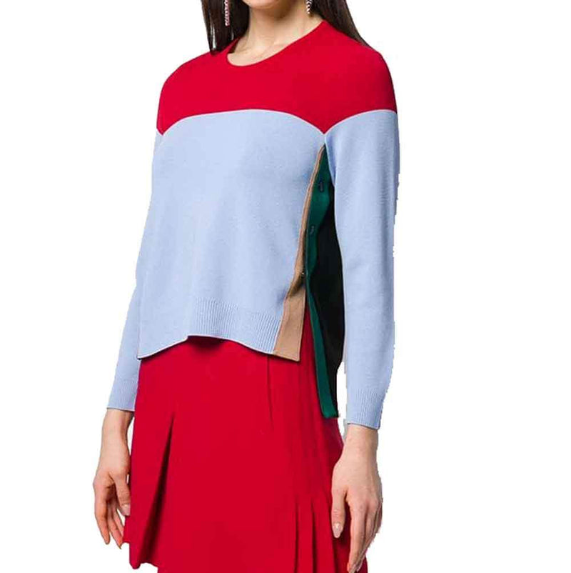 No. 21 Color Block Sweater Sweater No. 21