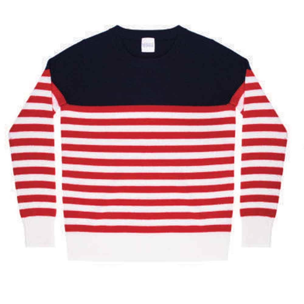 Madeleine Thompson Figaro Striped Sweater