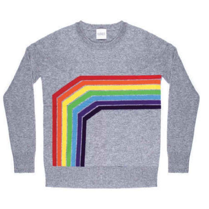 Madeleine Thompson Sleepy Rainbow Sweater