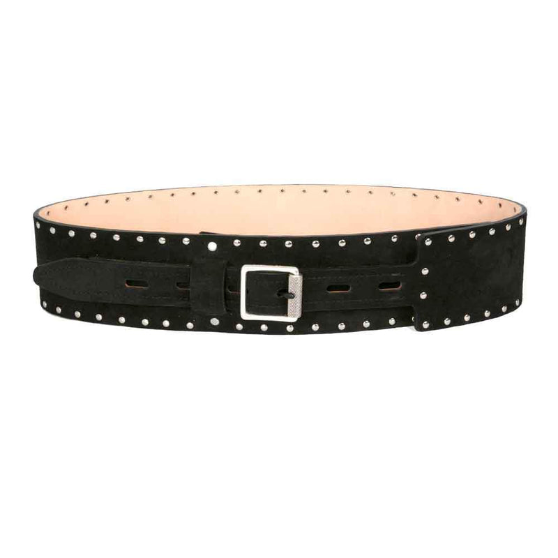 Rag & Bone Mason Woven Black Belt