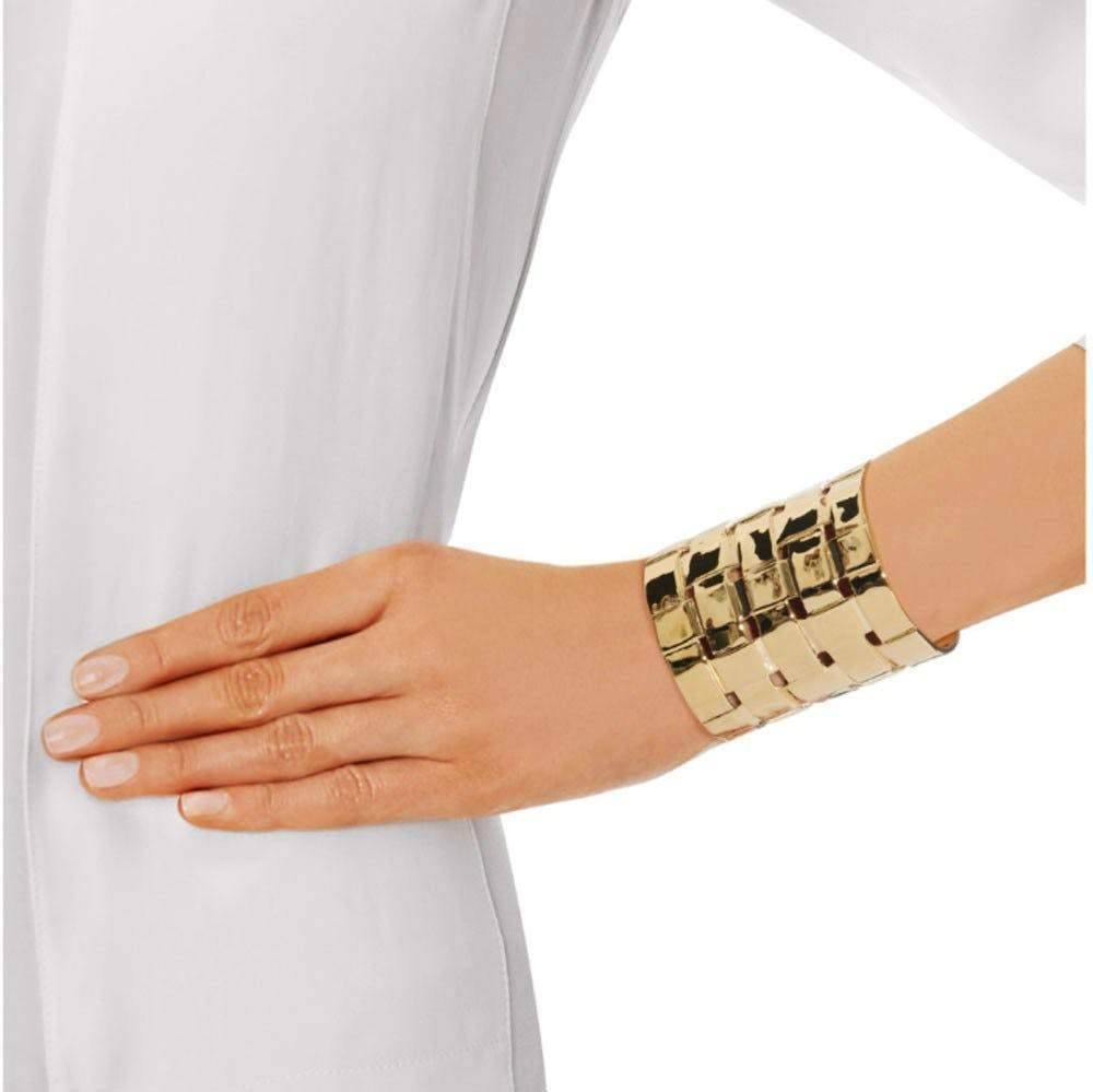 Aurélie Bidermann Marella Gold Cuff Jewelry Aurelie Bidermann