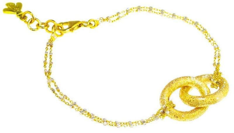Carolina Bucci 1885 Gold Double Link Bracelet Jewelry Carolina Bucci