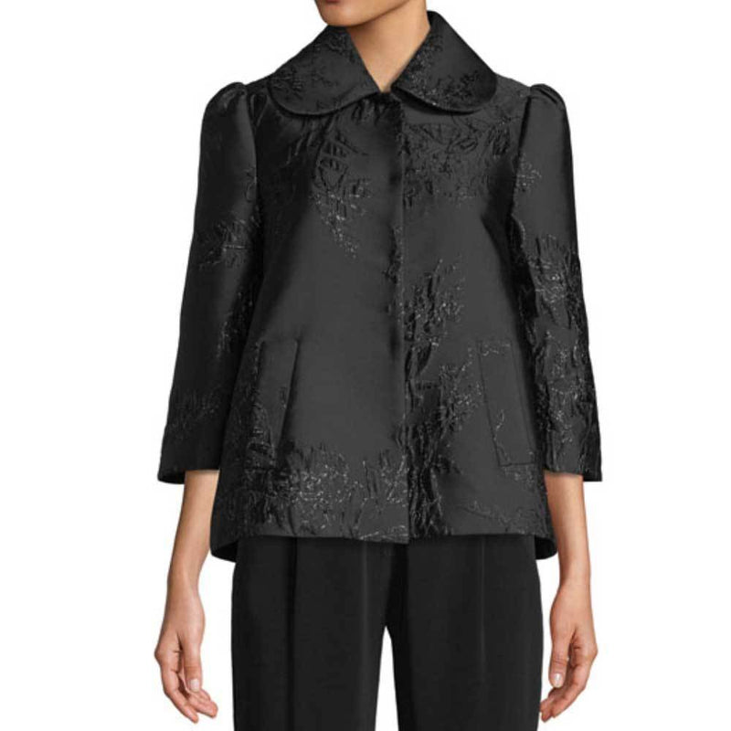 Co Collection Black Metallic Jacket Jackets Co Collection