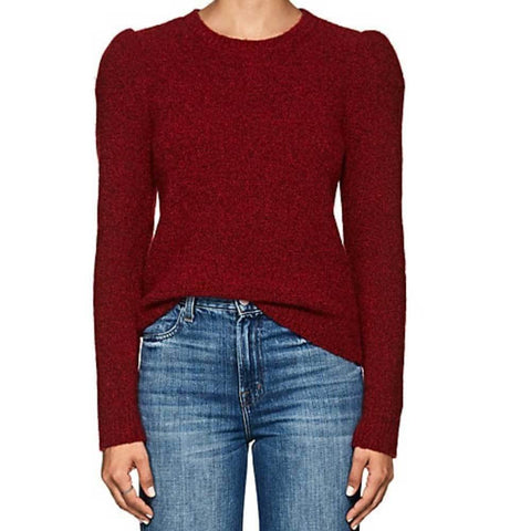 Co Collection Sweater S / Red Co Collection Boucle Cashmere Sweater