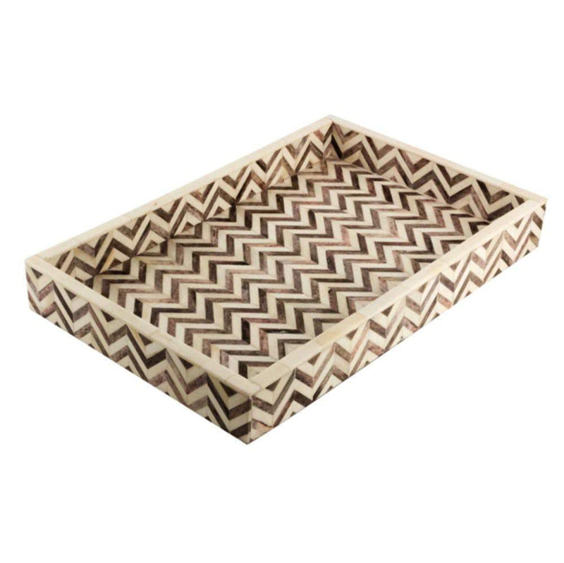 Eccolo Chevron Tile Gray Medium Box