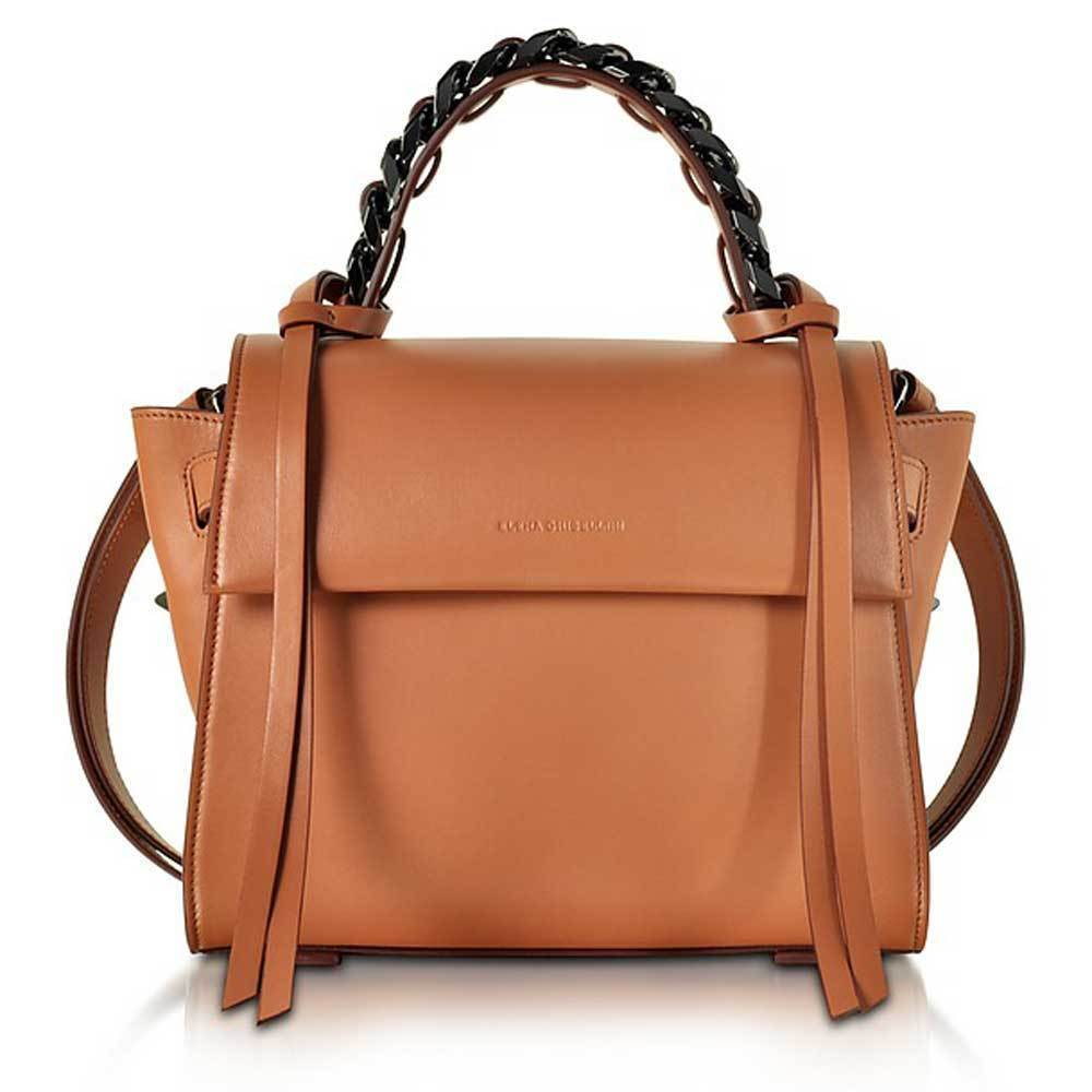 Elena Ghisellini Mini Angel Leather Canyon Handbag Handbag Elena Ghisellini