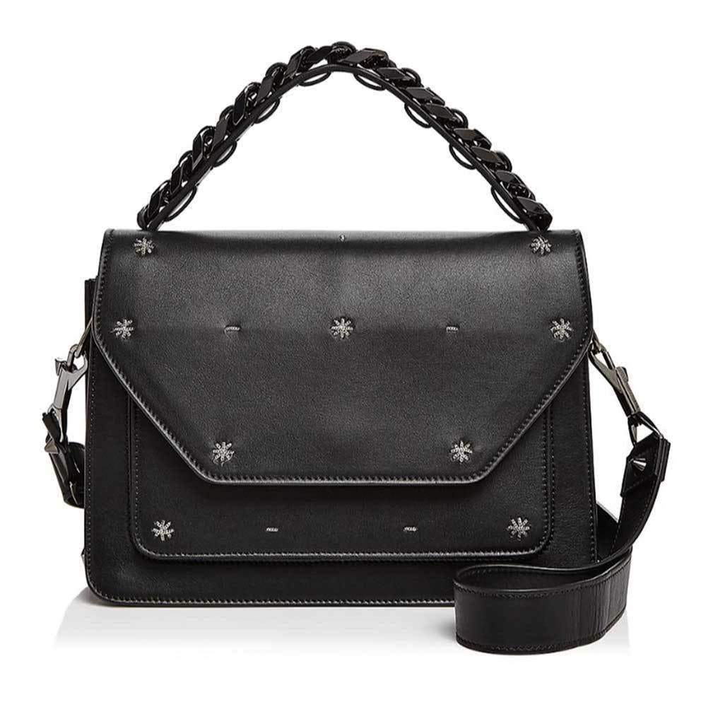 Elena Ghisellini Angel Eclipse Starry Night Satchel Handbag Elena Ghisellini Angel Handbag Designer Handbags Eclipse Starry Night Angel Handbag Elena Ghisellini Handbags Elenda Ghisellini Fashion handbag Shoulder Strap Handbag Style top handle $1495.00 GordonStuart.com