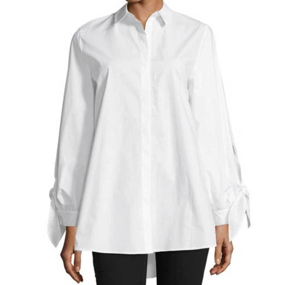 Kobi Halperin Serafina Tie-Sleeve Button up Shirt Tops Kobi Halperin