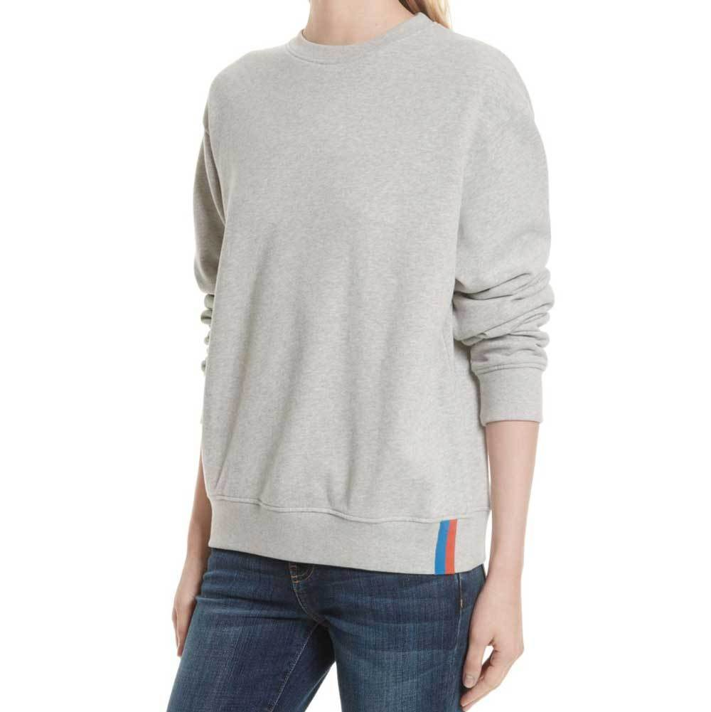 Kule Raleigh Heather Grey Sweatshirt Sweater Kule