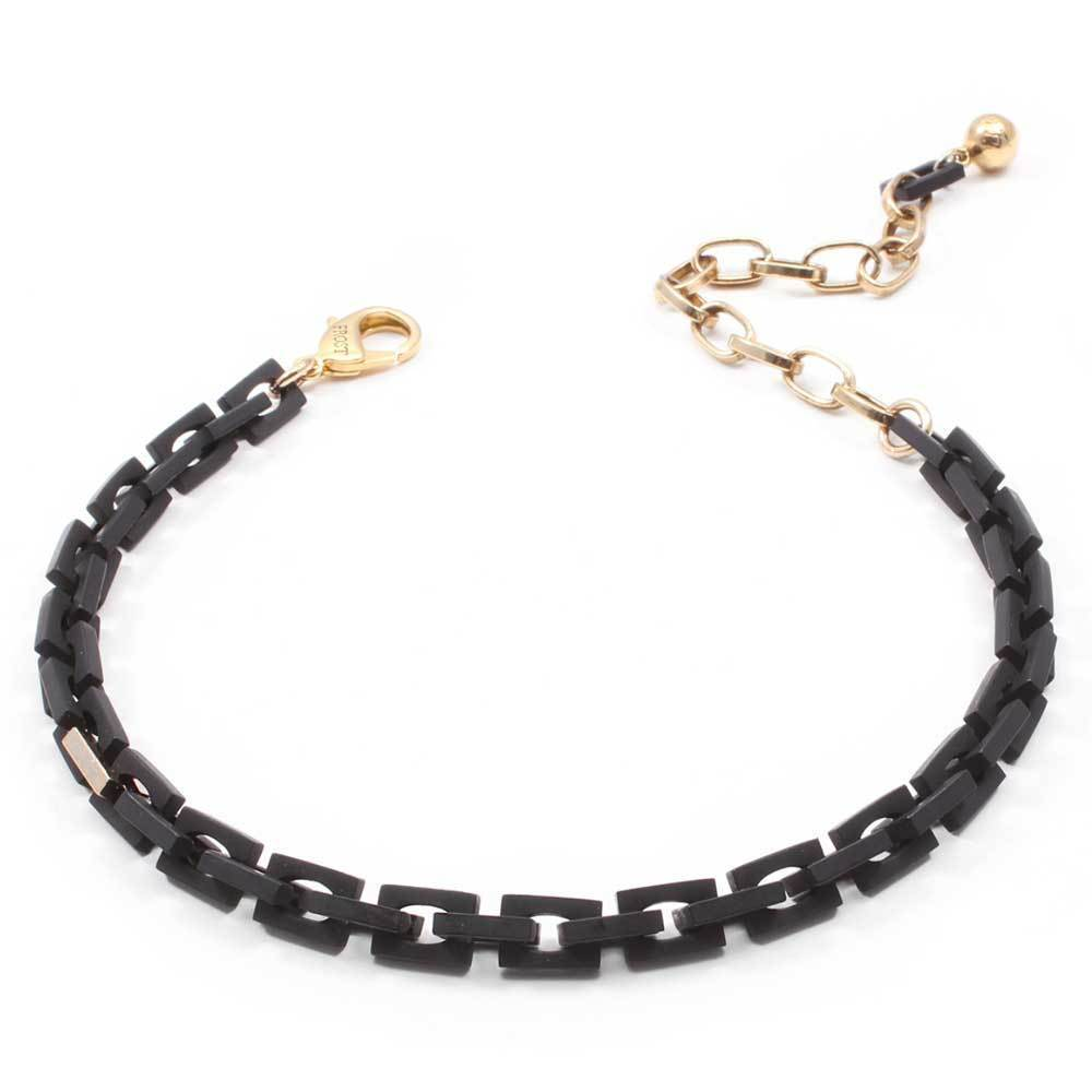 Lulu Frost Black Block Chocker Jewelry Lulu Frost
