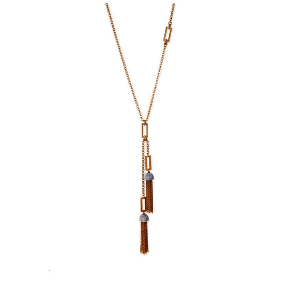 Lulu Frost Ursula Tassel Gold Necklace Jewelry Lulu Frost