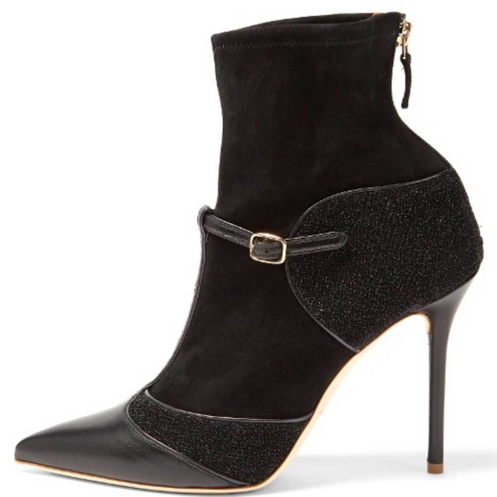 Malone Souliers Sadie Black Bootie Boots Malone Souliers