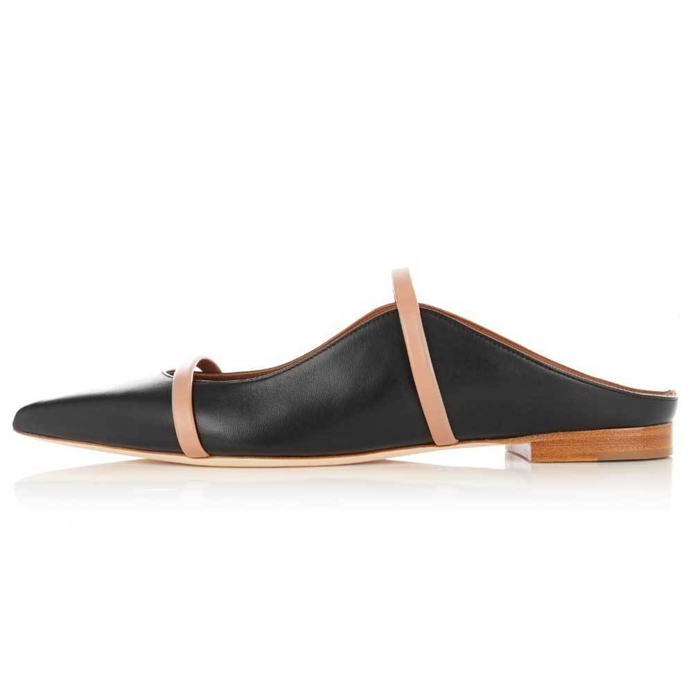 Malone Souliers Maureen Flat Slides Shoes Malone Souliers