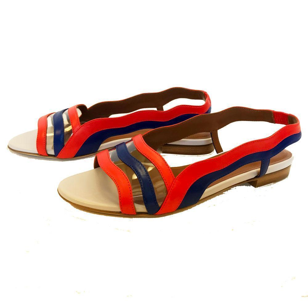 Malone Souliers Flameana Leather Flats Shoes Malone Souliers