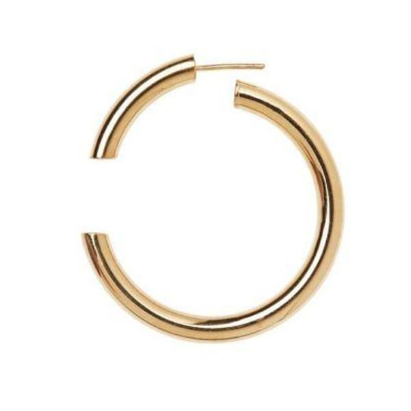 Maria Black Disrupted 40 Gold Hoop Earrings Jewelry Maria Black