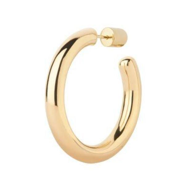 Maria Black Ruby 35 Gold Hoop Earrings Jewelry Maria Black