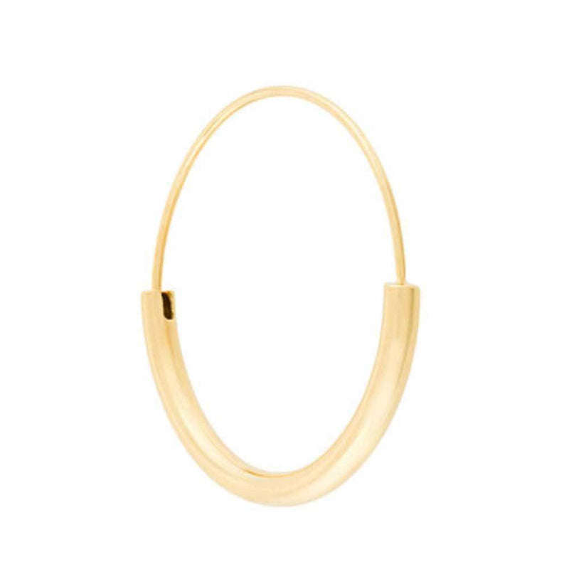 Maria Black Disrupted 40 Gold Hoop Earrings