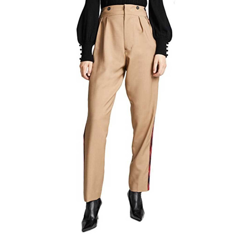 No. 21 Tailored Tuxedo Stripe Pants Pants No. 21