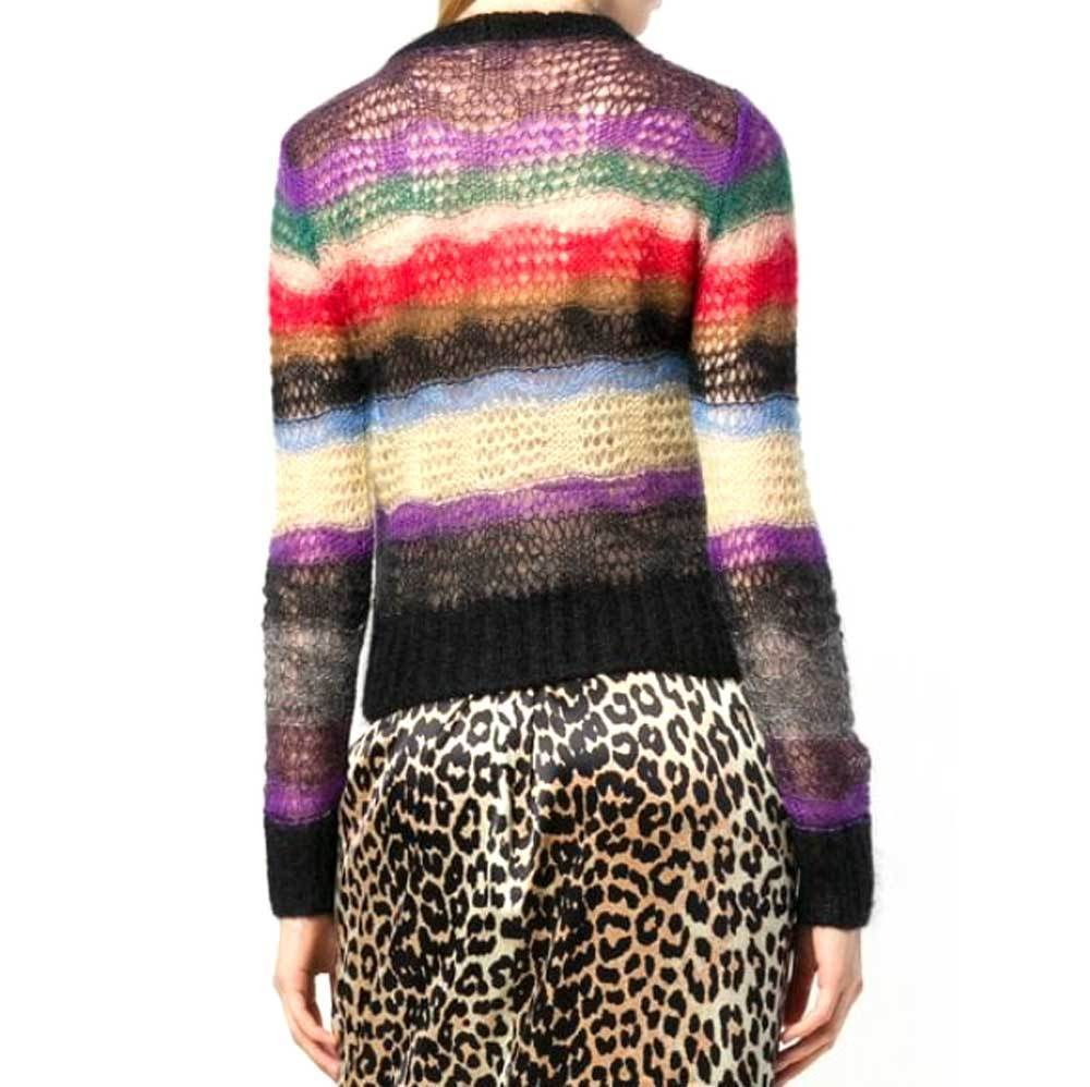 No. 21 Multi Colored Mohair Sweater Sweater No. 21