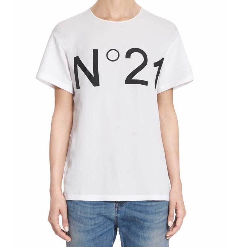 No. 21 Logo T-Shirt Tops No. 21