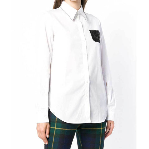 No. 21 Tops 42 / White No. 21 White Buttondown Longsleeve Shirt