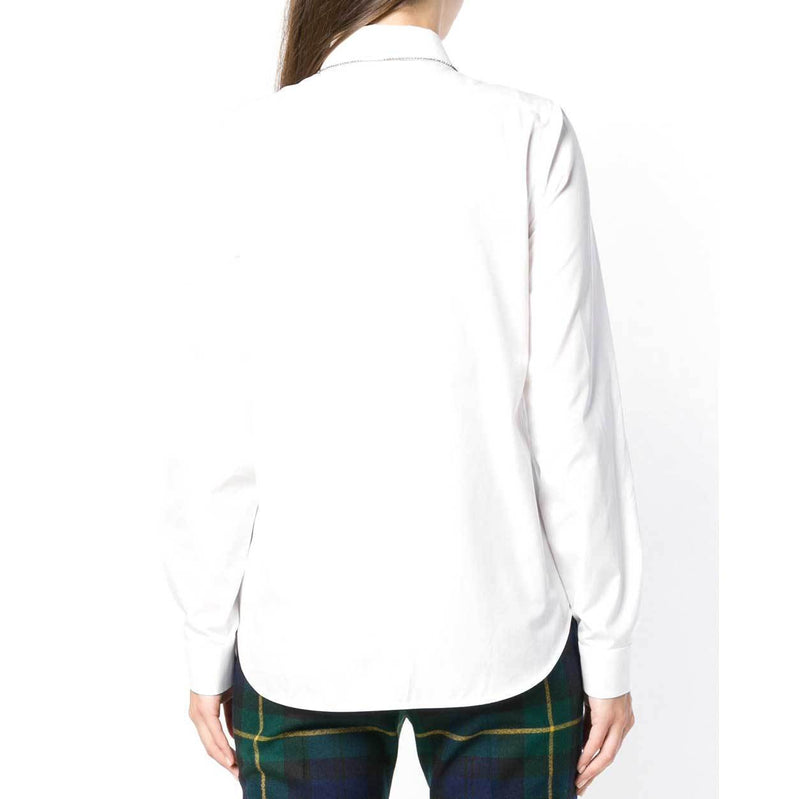 No. 21 White Buttondown Longsleeve Shirt Tops No. 21