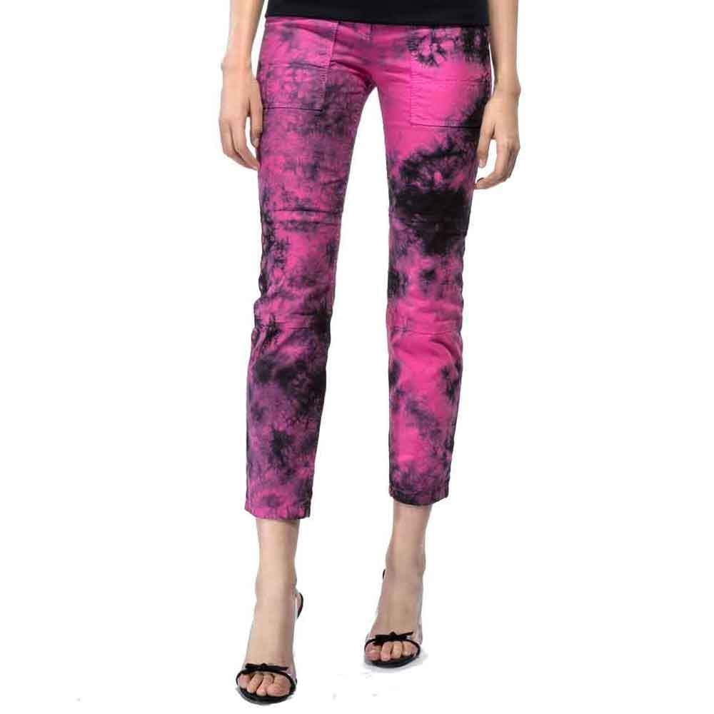 No. 21 Cropped Tie Dye Pants Pants No. 21