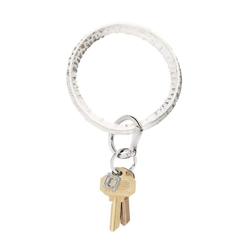 O-Venture Big O Key Ring - Quicksilver Croc Accessories O-Venture